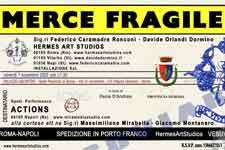MERCE FRAGILE PROJECT